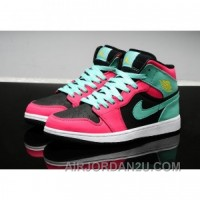 For Sale Air Jordan 1 Mid Atomic Red Volt Green Glow