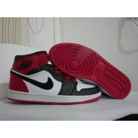 Air Jordan 1 Old Love White Black Varsity Red