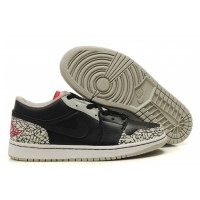 Air Jordan 1 Low Phat Black Cement