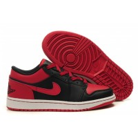 Air Jordan 1 Low Phat Black Varsity Red
