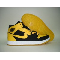 Air Jordan 1 New Love Black Varsity Maize White