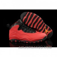 For Sale Air Jordan 10 GS Fusion Red