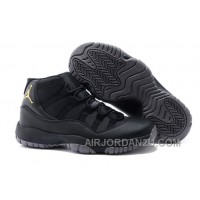 Charcoal Black And Gold Jordan 11 Men Basketball Shoes Free Shipping Top Deals RHBYzYS