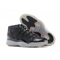 Air Jordan 11 72-10 AJ11 Black High Top For Sale