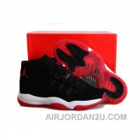 Air Jordan 11 Nubuck Bred Hot