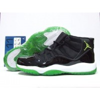 Air Jordan 11 Black Altitude Green