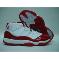 Air Jordan 11 White Red