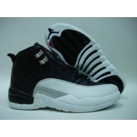 Air Jordan 12 Retro Black Red White Metallic Silver