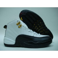 Air Jordan 12 Retro White Black Taxi