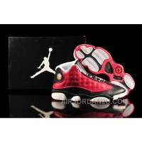 Air Jordan 13 Red Black White For Sale
