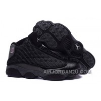 Air Jordan 13 All Black For Sale