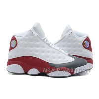 Hot Air Jordan 13 Retro White Team Red Flint Grey