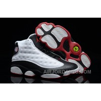 Air Jordan 13 Retro White Red Black New