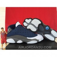 Air Jordan 13 Low Blue 2015 Cheap