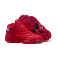 New Arrival 2016 Air Jordans 13 All Red Shoes For Sale