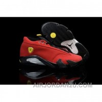 Air Jordan 14 RETRO Low Ferrari Red Cheap