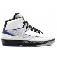 Air Jordan 2 Retro Bg Girls Concord Sale Discount