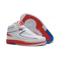 Air Jordan 2 Retro Rip City White Red Blue Cheap