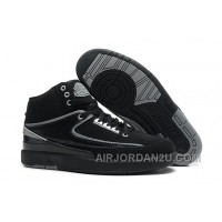 Air Jordan 2 Retro Black Chrome Cheap