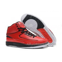 Air Jordan 2 Retro QF Varsity Red Black Red Cheap