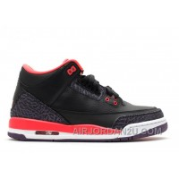 Air Jordan 3 Retro Girls Crimson Sale Cheap