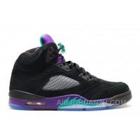 Air Jordan 5 Retro Black Grape Sale Online