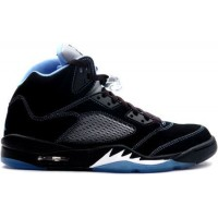 Air Jordan 5 Retro Black University Blue White