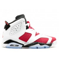 Air Jordan 6 Retro Bg Girls Carmine Sale Cheap