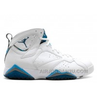 New Arrival Air Jordan 7 Retro French Blue Sale