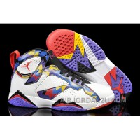 "Cheap 2017 Mens Air Jordan 7 ""Nothing But Net"" For Sale"