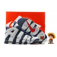 Nike Air More Uptempo OG Olympic Scottie Pippen Midnight Navy White Spirit Red 414962-401 New Release 4rCbyW