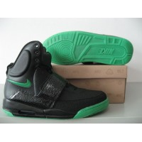 Air Yeezy Stealth Black Green
