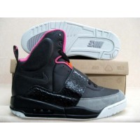 Air Yeezy Black Pink Charcoal
