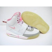 Air Yeezy White Pink Grey