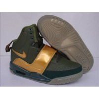 Air Yeezy Army Metallic Golden