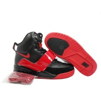 Air Yeezy Red Patent Black