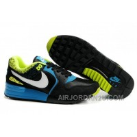 344082 011 Nike Air Pegasus 89 Black White Glass Blue Volt AMFM0258 Free Shipping 6KMp5