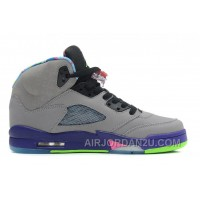 "Cheap Air Jordans 5 Retro ""Bel-Air"" Cool Grey/Club Pink-Court Purple-Game Royal For Sale"