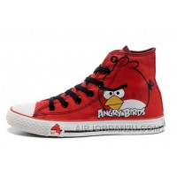 All Star CONVERSE Angry Birds Red High Tops Chuck Taylor Sneaker Discount F5jfm