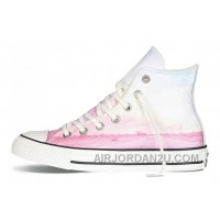 Pink High CONVERSE Chuck Taylor All Star Photo Real Sunset Print Shoes Free Shipping IpdQB
