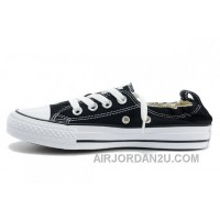 Classic Black CONVERSE Slip On Styling Chuck Taylor Shoreline All Star Tops Canvas Shoes Discount Xhpf4