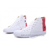 CONVERSE Undefeated White Red Tonal Stitching Chuck Taylor All Star High Discount KEGXh