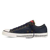 CONVERSE Chuck Taylor All Star Dark Denim Casual Low Discount BRks3