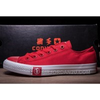 Red Cut Flash CONVERSE Chuck Taylor All Star Canvas Sneakers Online 8nSHx