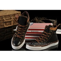 The Vampire Diaries Season With CONVERSE Black Chuck Taylor All Star Canvas High Tops Sneakers Lastest PtJNr