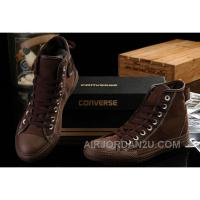 CONVERSE Fast And Furious Brown All Star High Tops Chuck Taylor Canvas Shoes Christmas Deals Rp7m5
