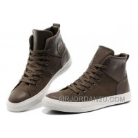 CONVERSE Chuck Taylor All Star City Lights Brown High Ps Leather Canvas Sneakers Cheap To Buy XSHre