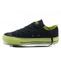 Dazzle Colour CONVERSE All Star Light Black Green Tops Casual Canvas Sneakers For Sale WwCA8
