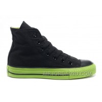 Korea Edition Black CONVERSE High Tops CT AS Specialty Foxing OX Green Sole Canvas Shoes Free Shipping YrJ8W