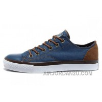Blue Denim CONVERSE All Star Vampire Diaries Tops Sneakers For Sale MkMQF